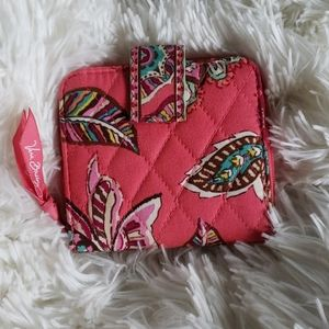Vera Bradley Quilted Small Paisley Wallet